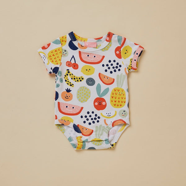 Fruit Tingle Short Sleeve Bodysuit (last one, size 0-3 months)