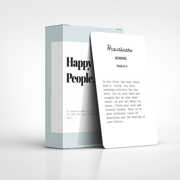 Happy Little People Card Deck