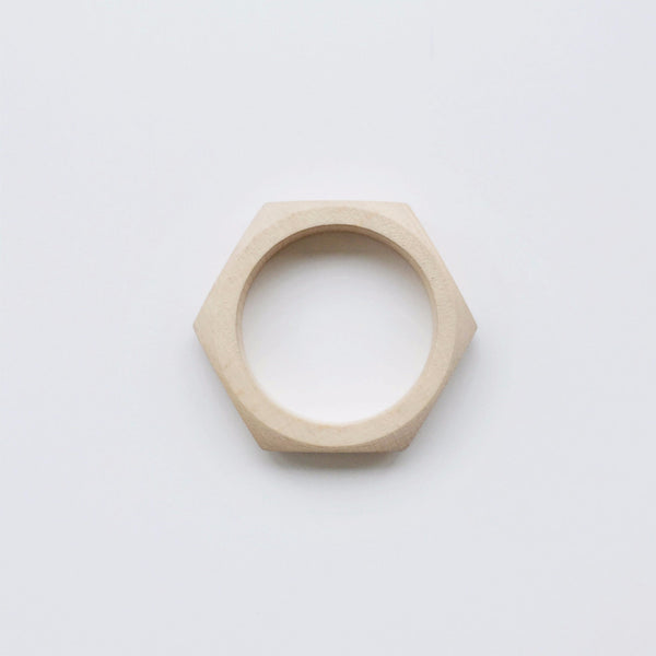 Honeycombe Wooden Teether