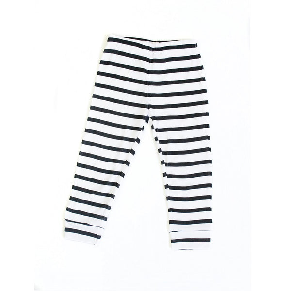 Breton Striped Leggings (last one, size 0-3 months)