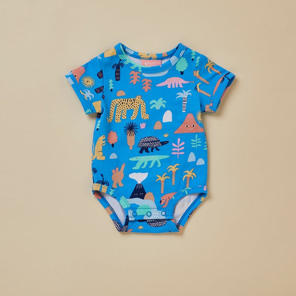 Megafauna Short Sleeve Bodysuit