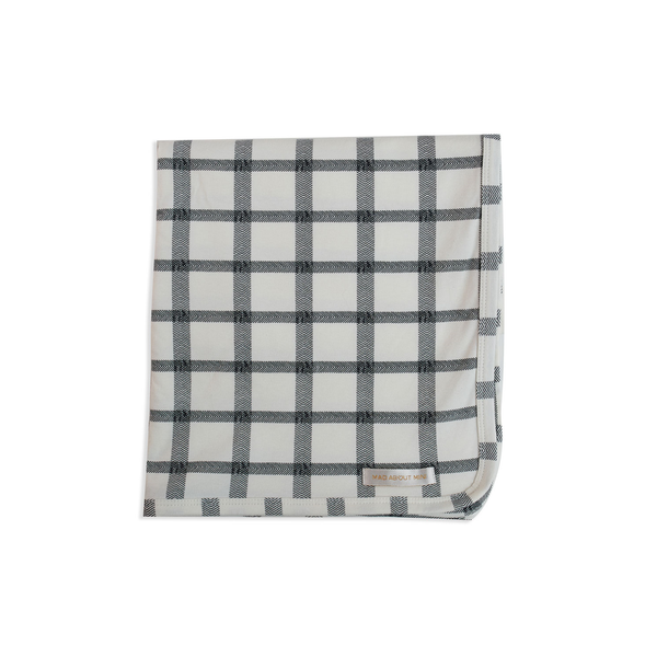 Herringbone Check Baby Wrap