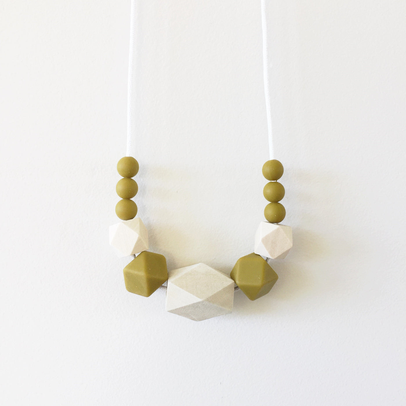 Mustard Ziggy Necklace