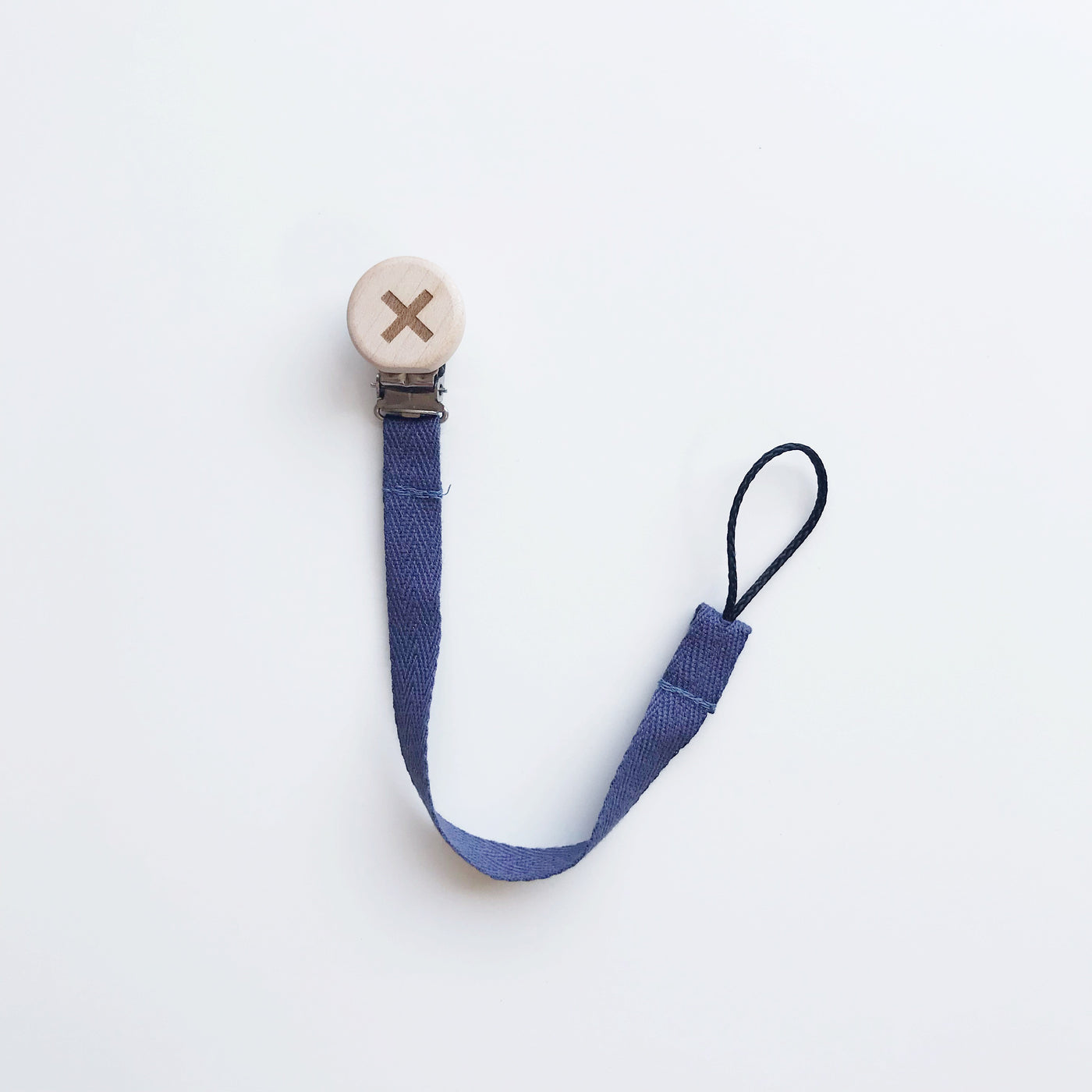 Navy Cross Cotton Dummy Clip