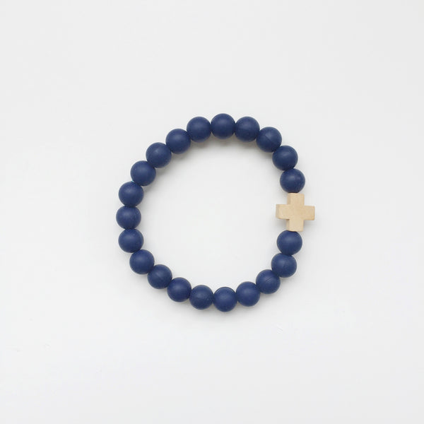 Navy Signature Bangle