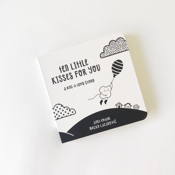 Ten Little Kisses For You - board book