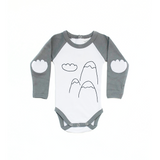 Long Sleeve Cloud Onesie