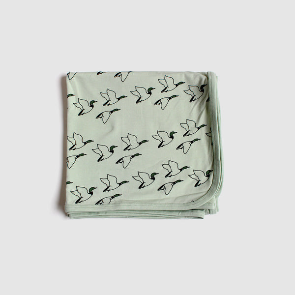 Ducks Organic Cotton Baby Wrap