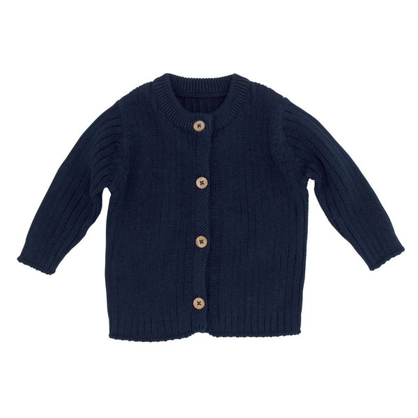 Murphy Knit Cardigan - Navy (last one, size 3-6 months)