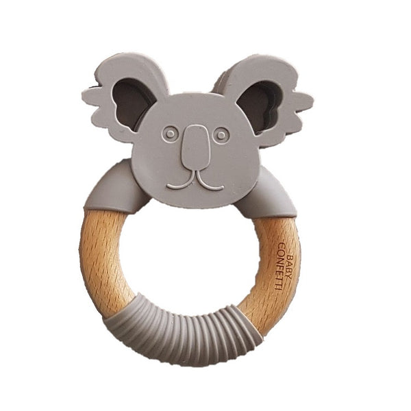 Graphite Koala Teether