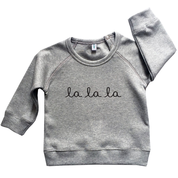 Grey la la la Jumper