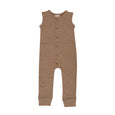 Hazelnut Fleece Jumpsuit
