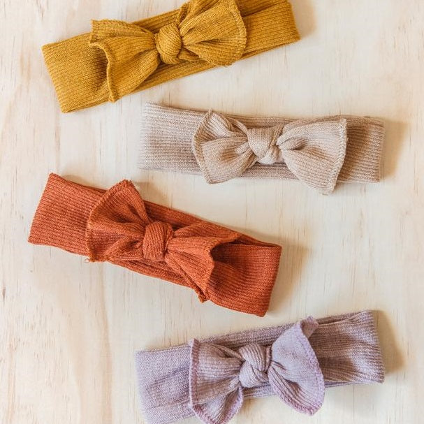 Little Bow Headband - 4 colours