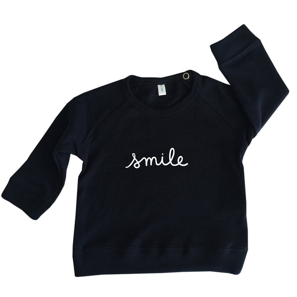 Navy 'smile' Jumper (last one, 0-3 months)