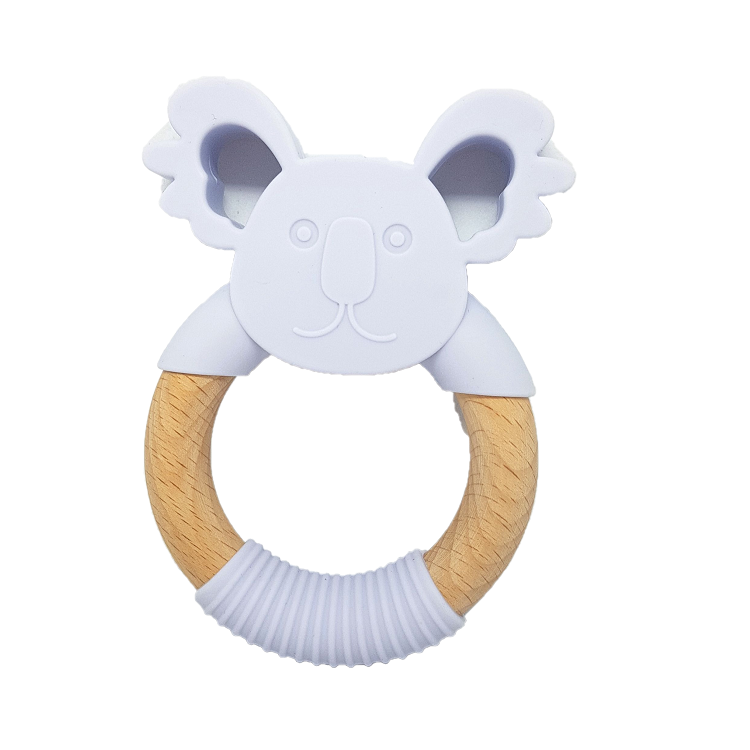 Periwinkle Koala Teether
