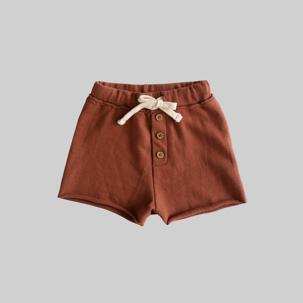 Russet Fleece Shorts (last one, size 2 years)