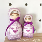 Babushka Doll Sister Set Of 2