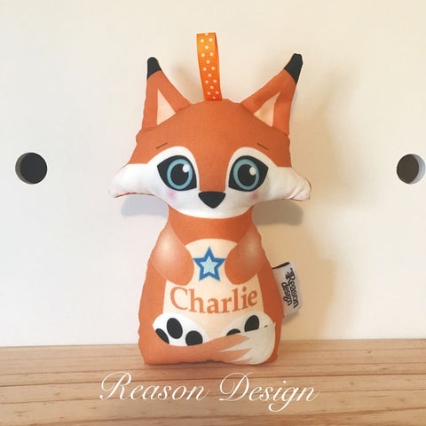 Personalised fox rattle