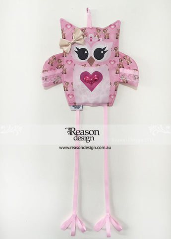 OWL hair clip & headband holder