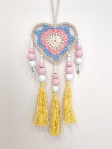 Heart dream catcher - small