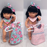 Medium Doll 4pc clothing set