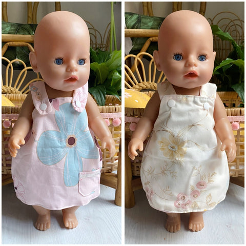Large Doll A-Line reversible dress
