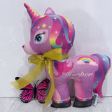 Small personalised unicorn