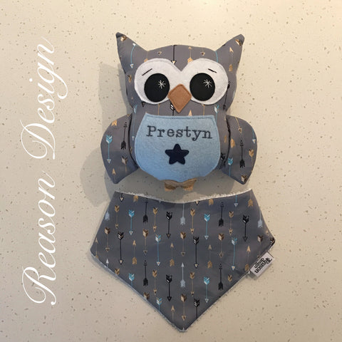 Personalised Original Owlet BOY