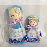 Personalised Babushka Doll Sister Sets