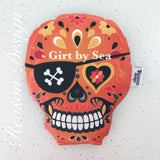 Orange sugar skull heat pack