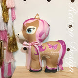 Personalised pony