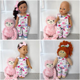 my sweet friend doll, babyborn doll, luvabella doll, cabbage patch kid