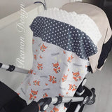 Personalised Minky Pram Blanket