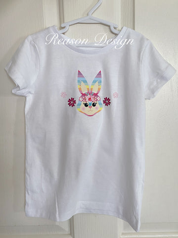 Personalised bunny t shirt