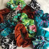 Basic scrunchies