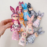 Personalised mini bunny