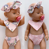 Large Doll Nappy & Bib Sets