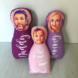Personalised photo babushka doll