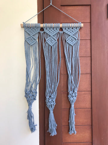 Macrame wall hanging - triple