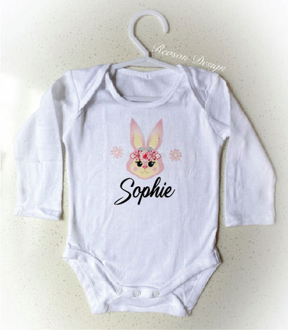 Personalised Bunny Onesie