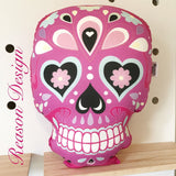 Sugar Skull cushion 35cms