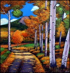 Johnathan Harris Contemporary Southwest Landscape Art Colorado Aspen