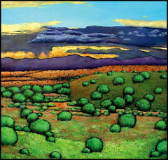 Johnathan Harris Contemporary Southwest Landscape Art Santa Fe New Mexico Desert