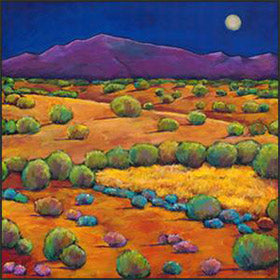 Original contemporary southwest landscape paintings by artist Johnathan Harris
