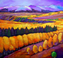 Johnathan Harris Contemporary Southwest Landscape Art Colorado