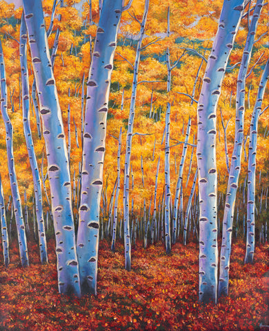 Aspen Colorado Southwest Landscape Art Print Johnathan Harris