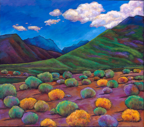 Arizona Mountains Prescott Phoenix Johnathan Harris Art