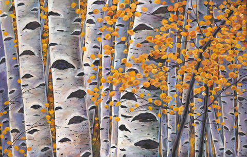Aspen Santa Fe New Mexico Southwest Landscape Art Print Johnathan Harris