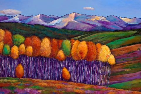 Aspen Colorado Southwest Landscape Art Print Johnathan Harris Elysian