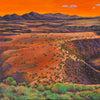 High Desert Evening by Johnathan Harris Fine Art - Taos New Mexico Rio Grande Gorge